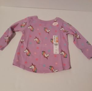 Garanimals baby girl L/S top Size 12 M